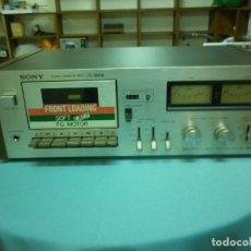 Radios antiguas: SONNY STEREO CASSETTE DECK TC- 188 SD. Lote 80745694