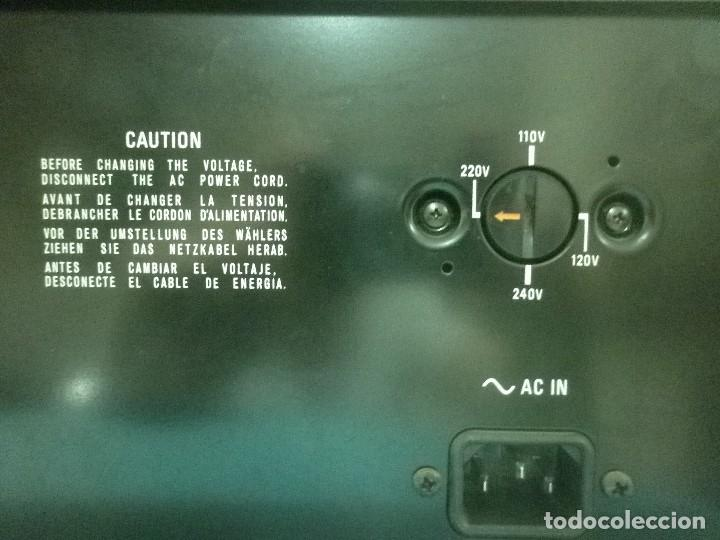Radios antiguas: SONNY STEREO CASSETTE DECK TC- 188 SD - Foto 5 - 80745694