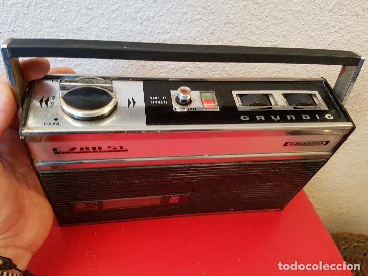Radios antiguas: APARATO REPRODUCTOR CASSETTE TIPO RADIO ANTIGUA GRUNDIG C 200 SL C200SL AUTOMATIC - Foto 2 - 80781874