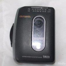 Radios antiguas: RADIO CASETTE AIWA-TA 133-AÑOS 90. Lote 82243568