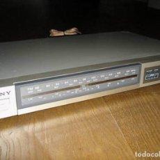Radios antiguas: SINTONIZADOR DE RADIO SONY ST -JX22L PEPETO EECTRONICA VER FOTOS Y VIDEO. Lote 82321984