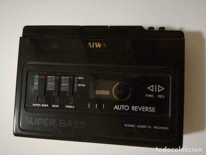 WALKMAN GRABADORA - AIWA HS-F150 (Radios, Gramófonos, Grabadoras y Otros - Transistores, Pick-ups y Otros)