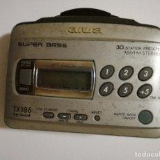 Radios antiguas: WALKMAN - AIWA TX386. Lote 82651272