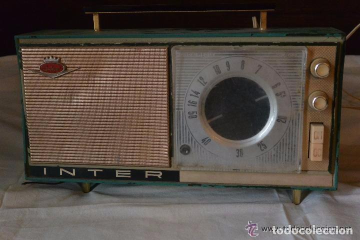 RADIO TRANSISTOR INTER ELÉCTRICO (Radios, Gramófonos, Grabadoras y Otros - Transistores, Pick-ups y Otros)