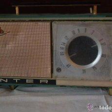 Radios antiguas: RADIO TRANSISTOR INTER ELÉCTRICO. Lote 83401680