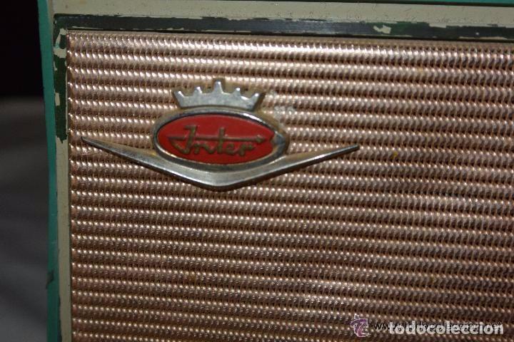 Radios antiguas: Radio transistor INTER ELÉCTRICO - Foto 2 - 83401680
