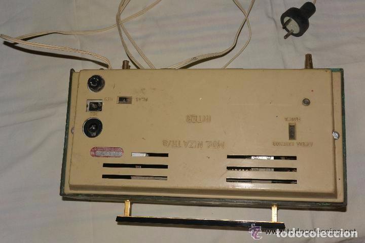 Radios antiguas: Radio transistor INTER ELÉCTRICO - Foto 3 - 83401680