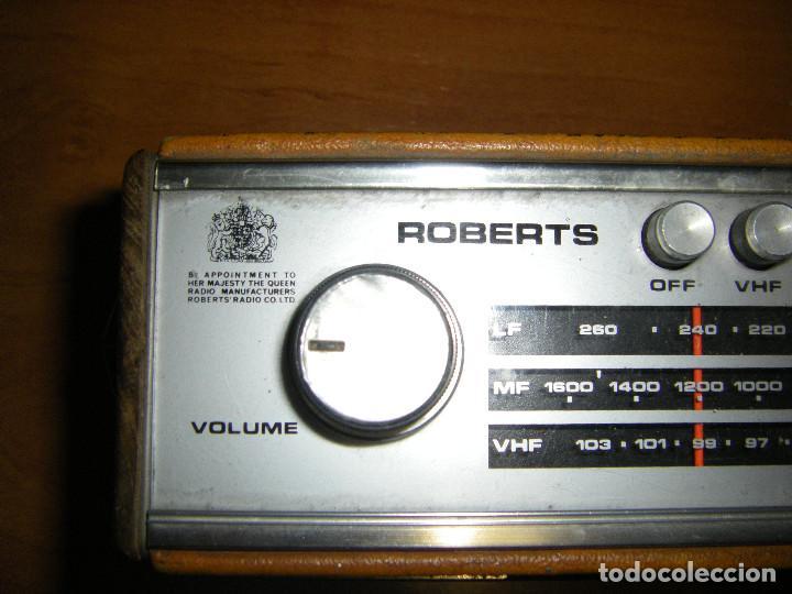 Radios antiguas: Radio Roberts RT22 - Foto 2 - 83435140