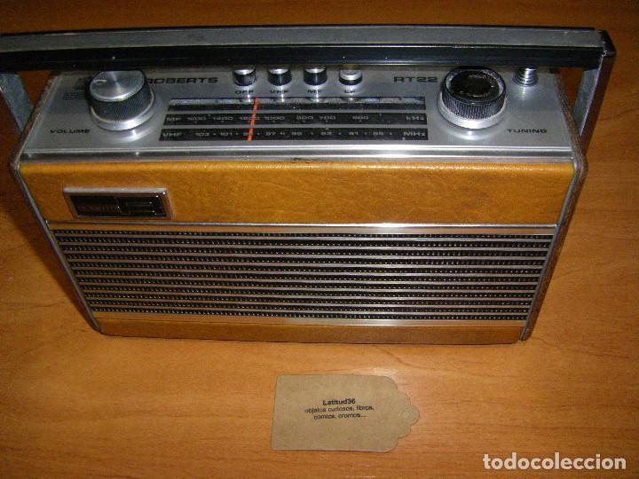 Radios antiguas: Radio Roberts RT22 - Foto 11 - 83435140