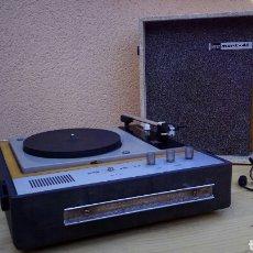 Radios antiguas: TOCADISCOS PICK-UP BETTOR MARK 40 , MALETIN - MUY VINTAGE, MUY DECORATIVO , FUNCIONANDO. Lote 83439634