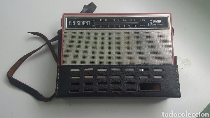 RADIO PRESIDENT DE LUXE HIFI (Radios, Gramófonos, Grabadoras y Otros - Transistores, Pick-ups y Otros)