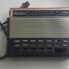 Radios antiguas: RADIO PRESIDENT DE LUXE HIFI. Lote 83799610