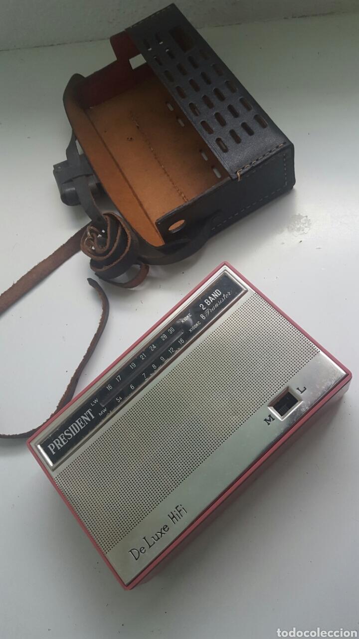 Radios antiguas: Radio President De Luxe HIFI - Foto 2 - 83799610