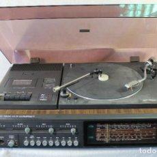 Radios antiguas: EQUIPO MUSICA ITT 7200 STEREO HIFI COMPACT RADIO CASSETTE TOCADISCOS AÑOS 70. Lote 84156184