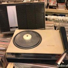 Radios antiguas: TOCADISCOS PORTÁTIL MINI TOCADISCOS ASKAR . Lote 84253612