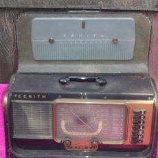 Radios antiguas: RECEPTOR DE RADIO ZENITH. TRANS OCEANIC.MARINE WAVERMAGNET 34 X 26. Lote 84568000