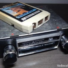 Radios antiguas: VOXSON 8 SONAR MODELO GN 106 CASSETTE 8 PISTAS + CINTA INCLUIDA - RARO. Lote 84570960