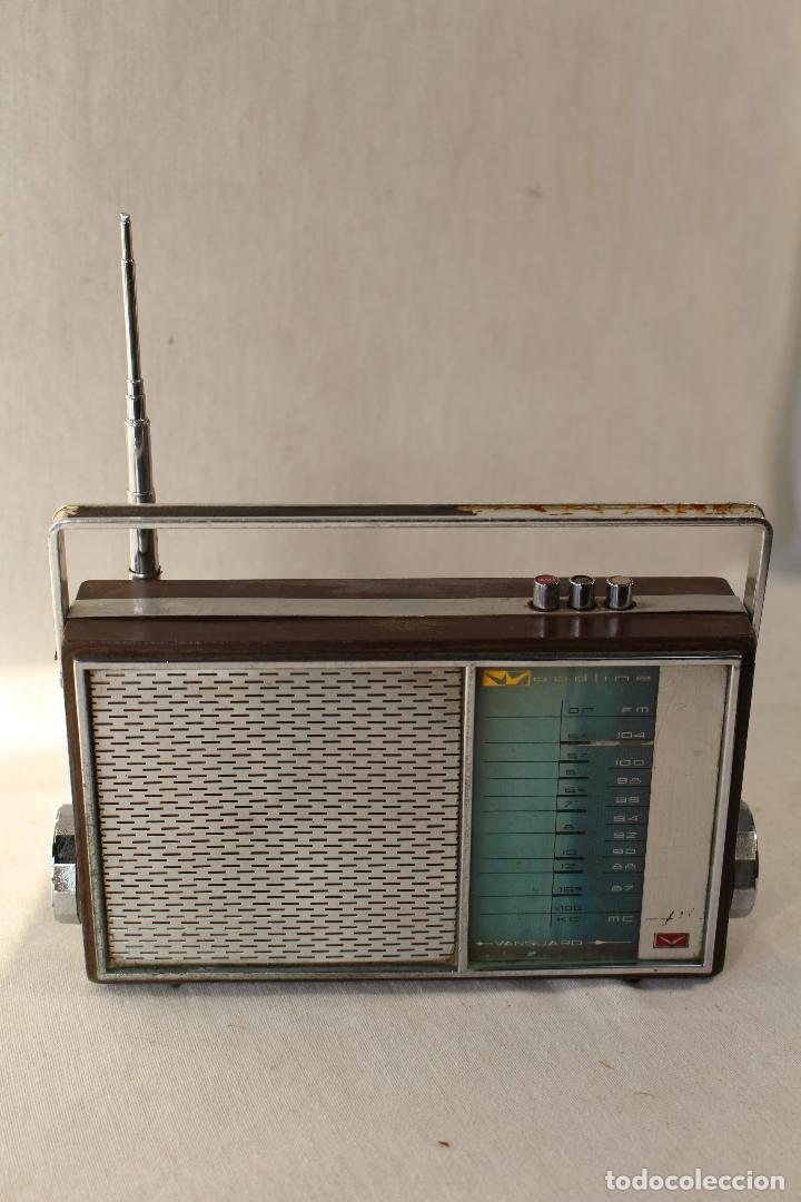 RADIO TRANSISTOR VANGUARD RADIO WOODLINE VANGUARD JET (Radios, Gramófonos, Grabadoras y Otros - Transistores, Pick-ups y Otros)