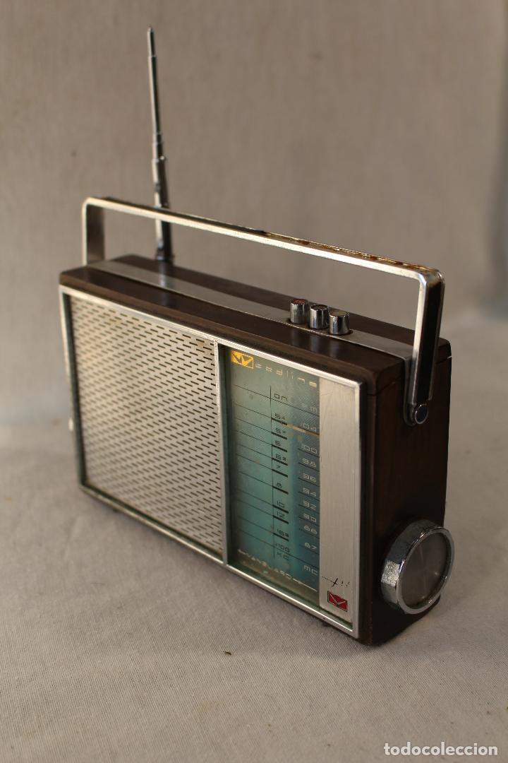 Radios antiguas: radio transistor vanguard RADIO WOODLINE VANGUARD JET - Foto 2 - 84673820