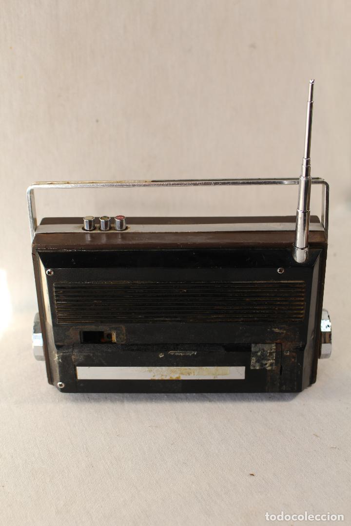 Radios antiguas: radio transistor vanguard RADIO WOODLINE VANGUARD JET - Foto 5 - 84673820
