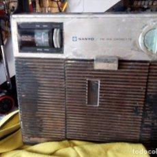 Radios antiguas: RADIO CASETTE SANYO. Lote 85445516
