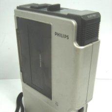 Radios antiguas: RARO WALKMAN GRABADORA PERIODISTA - PHILIPS N2002/50 - HOLLAND AÑOS 70 - CASETE CASETTE N 2002. Lote 190313483