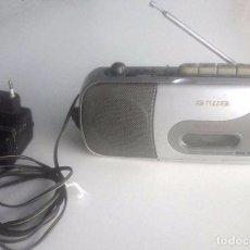 Radios antiguas: RADIO TRANSISTOR AIWA. FUNCIONA. Lote 85717092