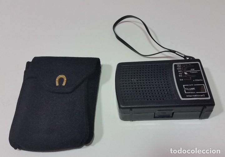 Radios antiguas: RADIO TRANSISTOR CON FUNDA - Foto 2 - 85847920