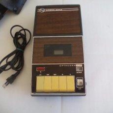 Radios antiguas: LOEWE OPTA, OPTACORD 448 CO SU FUNDA. REPRODUCTOR DE CINTAS CASSETTE VINTAGE, AÑOS 70. CASETE.. Lote 86142308