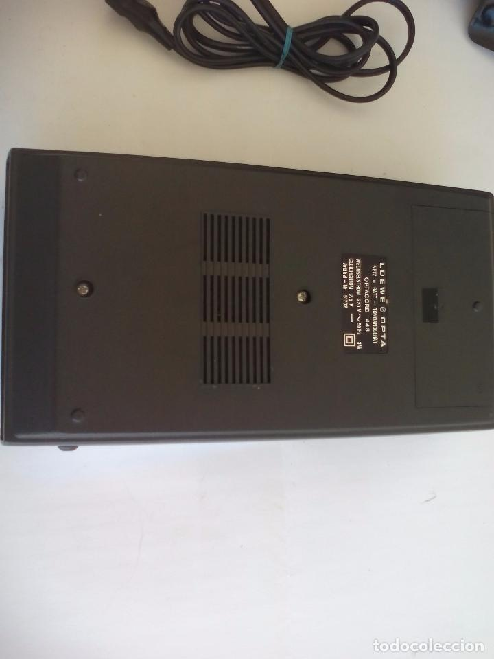 Radios antiguas: Loewe OPTA, optacord 448 co su funda. Reproductor de cintas cassette vintage, años 70. Casete. - Foto 5 - 86142308