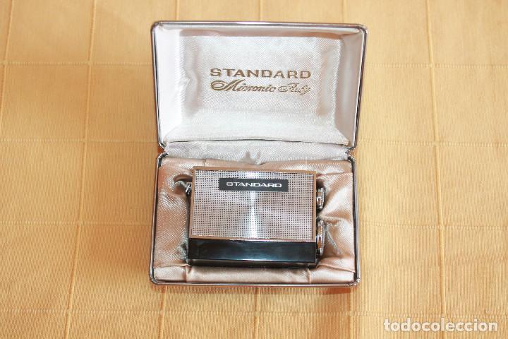 RADIO MINIATURA PARA COLECCIONISTA, STANDARD RADIO CORP. JAPAN, MICRONIC RUBY SR-H436 EN SU CAJA (Radios, Gramófonos, Grabadoras y Otros - Transistores, Pick-ups y Otros)