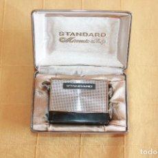 Radios antiguas: RADIO MINIATURA PARA COLECCIONISTA, STANDARD RADIO CORP. JAPAN, MICRONIC RUBY SR-H436 EN SU CAJA. Lote 86188300