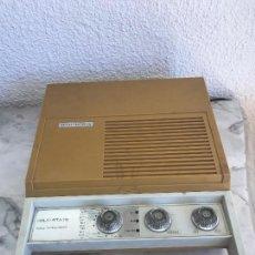 Radios antiguas: SOLID STATE MODELO LULU-MONDE MADE IN JAPAN, TOCADISCOS RADIO FUNCIONANDO.. Lote 89287747