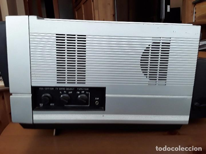 Radios antiguas: CONTEC RADIO TELEVISOR COLOR MODEL KRB - 1542 PORTATIL - Foto 4 - 86646632