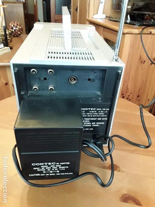Radios antiguas: CONTEC RADIO TELEVISOR COLOR MODEL KRB - 1542 PORTATIL - Foto 5 - 86646632