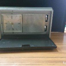 Radios antiguas: RADIO TRANSISTOR DESPERTADOR FUNCIONA. Lote 87795500