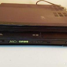 Radios antiguas: VIDEO VHS SHARP VC-A10. NO FUNCIONA, NO SALE LA PELÍCULA.. Lote 88764076