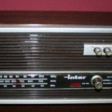 Radios antiguas: RADIO INTER EUROMODUL 70 - FUNCIONANDO - AÑOS 70. Lote 89028100