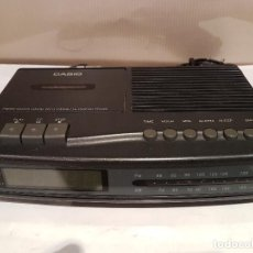 Radios antiguas: ANTIGUO RADIO DESPERTADOR CASIO BUEN ESTADO FUNCIONA. Lote 89268308