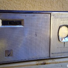 Radios antiguas: RADIO TRANSISTOR VANGUARD SAMOS NO FUNCIONA. Lote 89790511