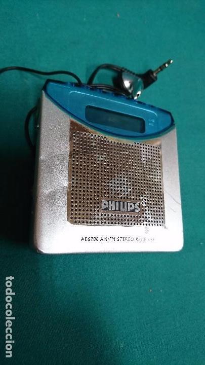Radios antiguas: RADIO TRANSISTOR PHILIPS DIGITAL - Foto 2 - 89790996