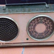 Radios antiguas: ANTIGUA RADIO INTER - NO FUNCIONA - DESPIECE. Lote 90028140