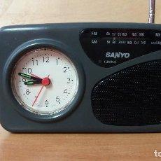 Radios antiguas: RADIO DESPERTADOR DE SANYO. Lote 91248085