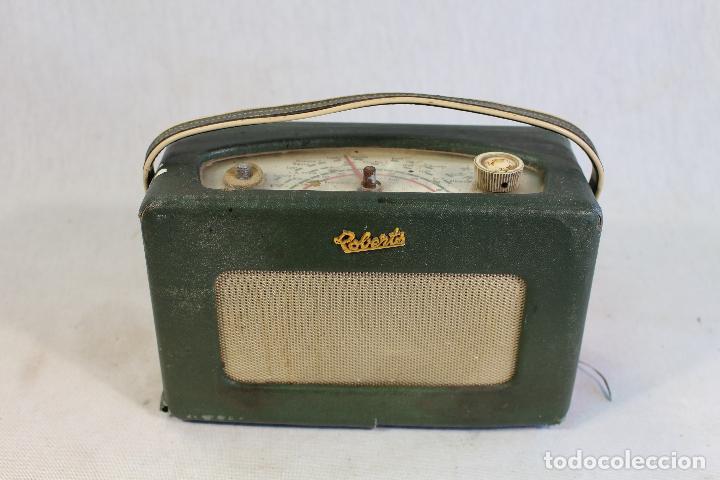 ROBERTS MODELO R 200RADIO TRANSISTOR VINTAGE 1960 (Radios, Gramófonos, Grabadoras y Otros - Transistores, Pick-ups y Otros)