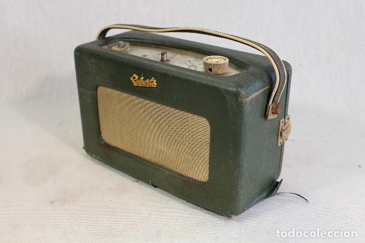 Radios antiguas: roberts modelo r 200radio transistor vintage 1960 - Foto 5 - 111806422