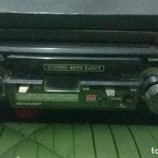 Radios antiguas: ANTIGUO RADIO GRABADOR CASSETTE SHARP. FUNCIONANDO EN BUEN ESTADO. Lote 91552390