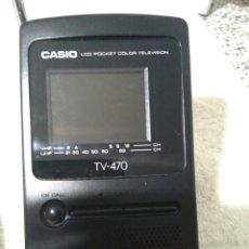 Radios antiguas: TELEVISIÓN CASIO LCD POCKET TV- 470. Lote 91736783