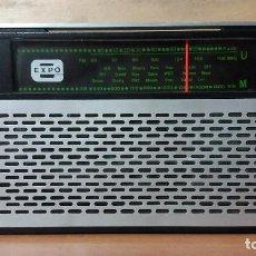 Radios antiguas: RADIO TRANSISTOR EXPO. Lote 91757600