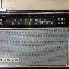Radios antiguas: 260-RADIO TRANSISTOR KOYO. Lote 91935235