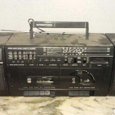 Radios antiguas: RADIO CASSETTE DOBLE PLETINA STEREO . Lote 92248592